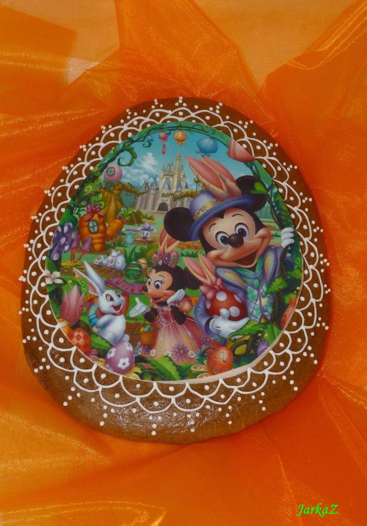 Easter gingerbread - Disney characters - maxi veľkonočný medovníček s disney postavičkami