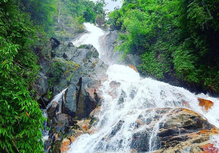 Krathing Waterfall : Chanthaburi, Thailand
