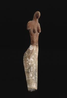 Statuette féminine d'Égypte prédynastique