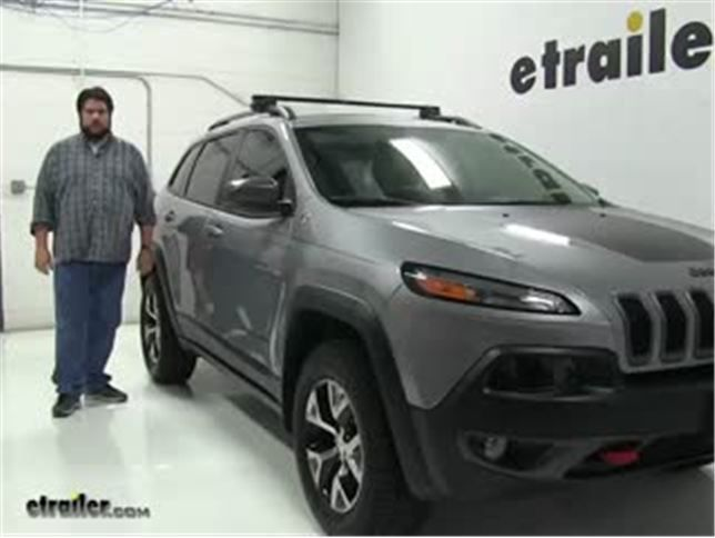 Roof Rack For 2015 Cherokee By Jeep Etrailer Com Jeep Jeep Cherokee Roof Rack Roof Rack