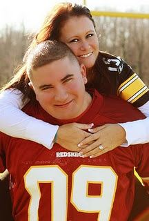 Football Engagement Pictures! :)