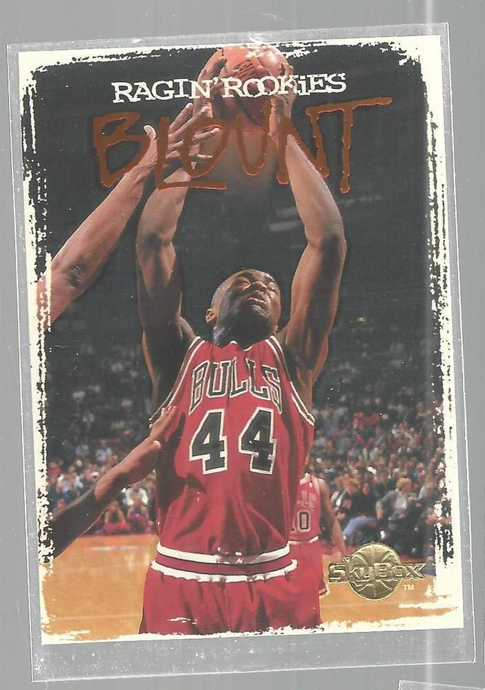 Corie Blount Ragin' Rookies Skybox RR2 Chicago Bulls Basketball Card 1994/95   #ChicagoBulls
