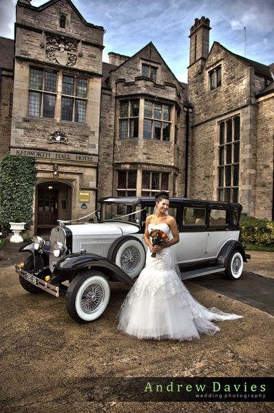 wedding photo redworth hall