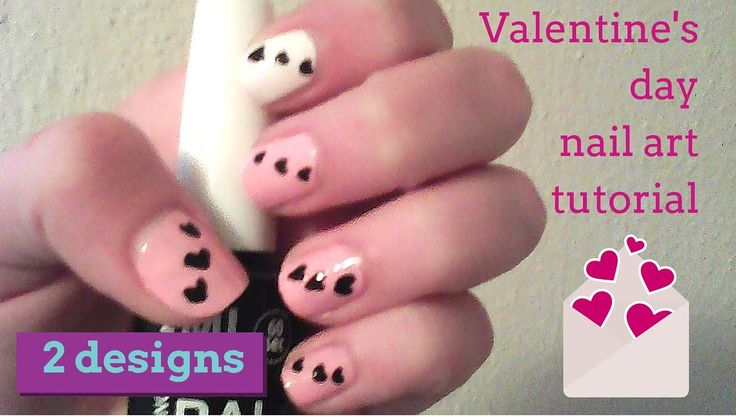 Valentine's day nail art 2016 - 2 designs l Mirtoulini 29