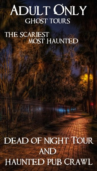 Ghost Tours Savannah Ga Adults Only