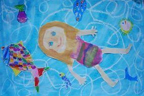 Summer, art class elementary school, Anke Kremer