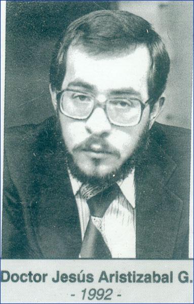 Doctor Jesús Aristisabal G. 1992