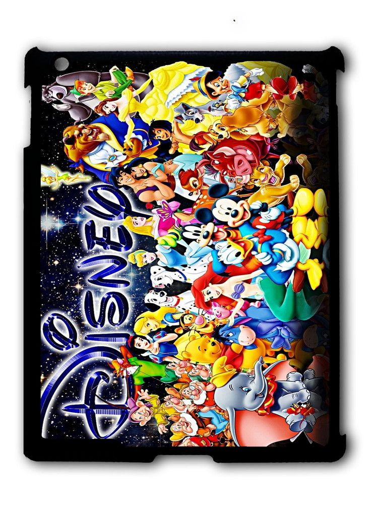 Characters Disney iPad case, Available for iPad 2, iPad 3, iPad 4 , iPad mini and iPad Air