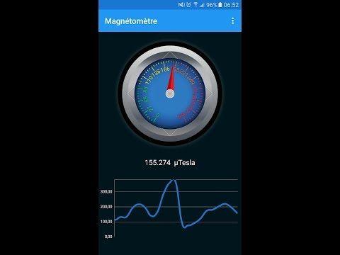 Magnétomètre - Détecteur de Métaux - https://www.android-logiciels.fr/magnetometre-detecteur-de-metaux/