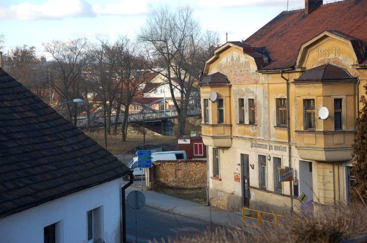 rok 2009 hospoda v Bezručově ulici