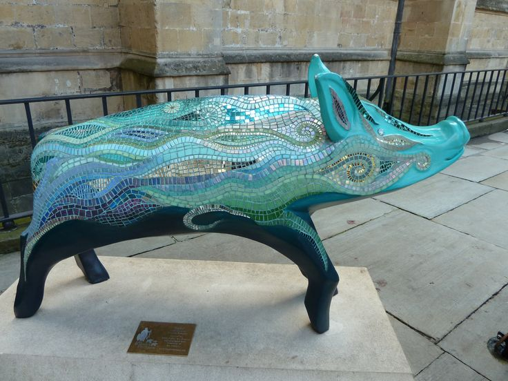 Mosaic Pig | Julie Aldridge