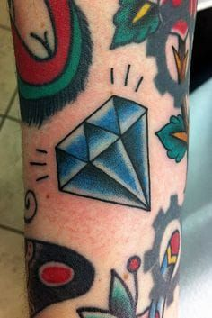 Diamond Tattoo Filler by Chris Hold
