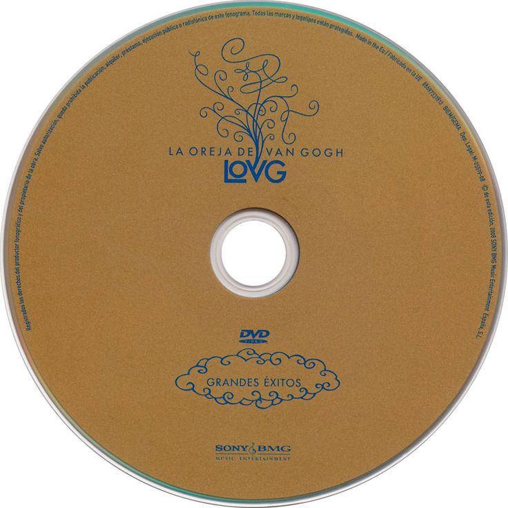Carátula Dvd de La Oreja De Van Gogh - Grandes Exitos