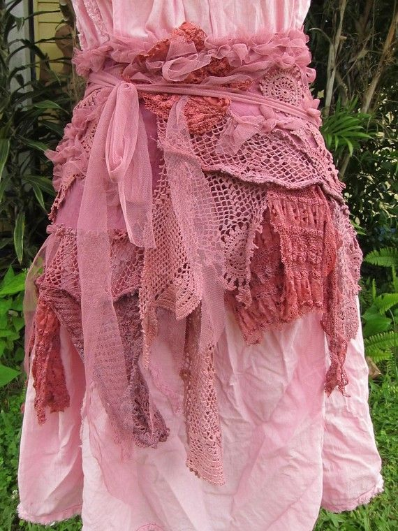 shabby bohemian burlesque rose pink by wildskin on Etsy