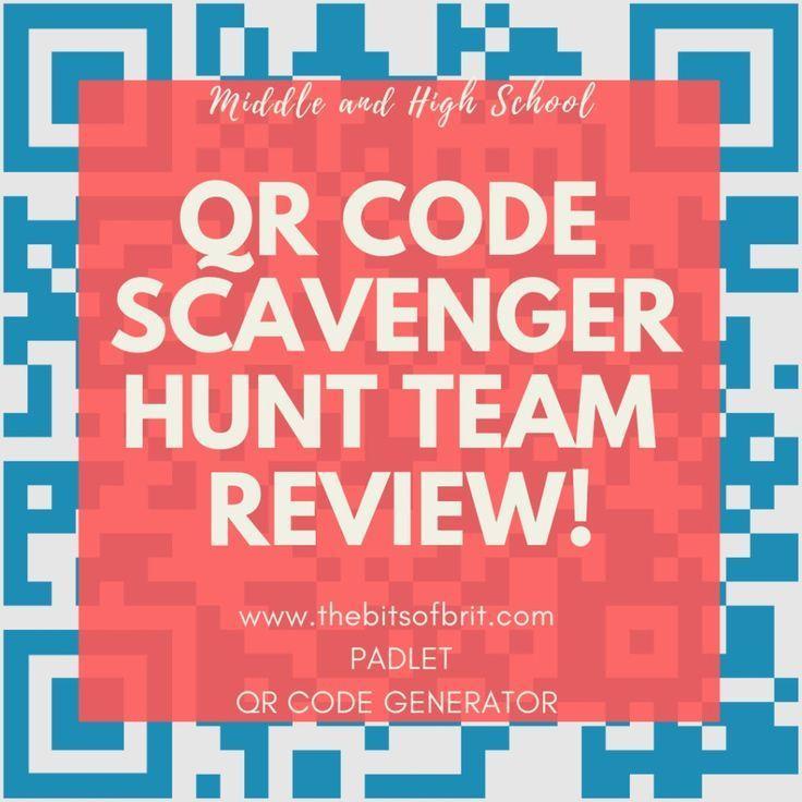 QR Code Scavenger Hunt Team Review Common Core. High School English Lang Arts, Teaching, Technology, Educational Technology.