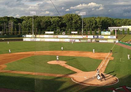 This picture is of Joe. Bruno stadium in Troy Ny. the Tri-City Valleycats which is the farm team for the Houston Astros play here. I had the pleasure to work along side some amazing people. Working at the Valleycats taught me many skills that will help me be the future teacher I want to be.