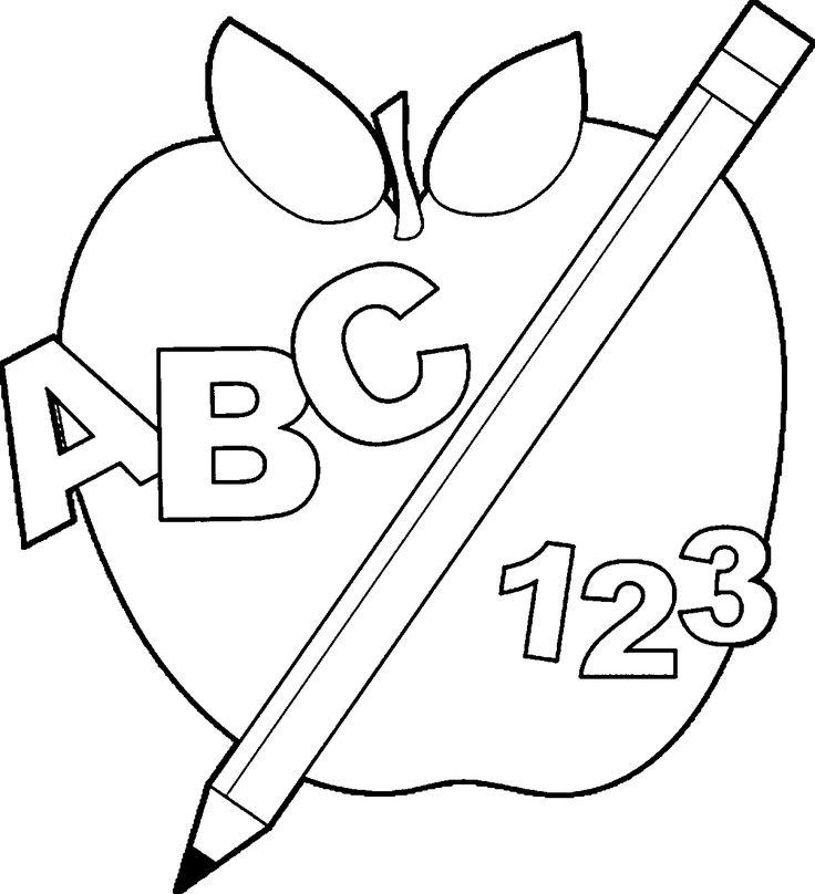 discoverbacktoschoolappleimagescoloringpageabc123