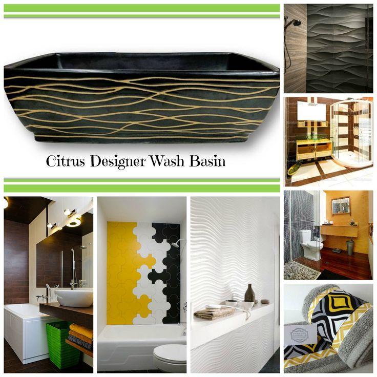 Citrus Designer Wash Basin inspiration  Since its a black wash basin  it  can match. 85 best Designer Wash Basins   Sink images on Pinterest