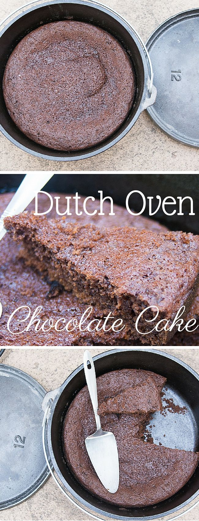 This amazing dutch oven chocolate recipe is moist, decadent, and every bite is oozing with flavor. It's the BEST dutch oven recipe to have in your repertoire.