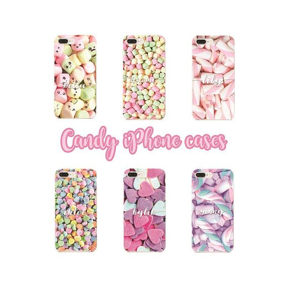 Candy iPhone case.  #candy #iphonecase #personalized