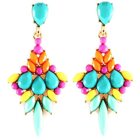 CAPRI - colourful earrings