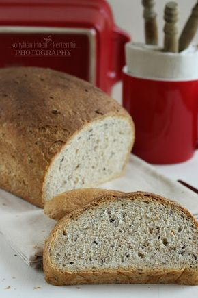 """...konyhán innen - kerten túl...: Vollkorn kenyér - avagy az én """"River Cottage-i"""" ke..."""