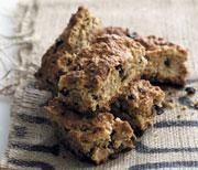 Scrumptious fruit and bran rusks