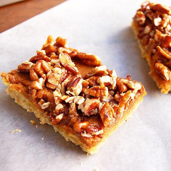 Paleo Pumpkin Streusel Bars | Recipe | Pumpkins, Salts and Almond ...