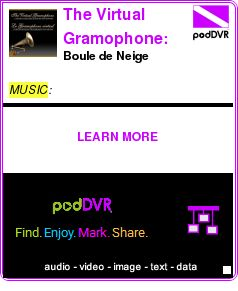 #MUSIC #PODCAST  The Virtual Gramophone: Winter songs    Boule de Neige    LISTEN...  http://podDVR.COM/?c=d309827f-2136-8265-de48-b71e2fe28185