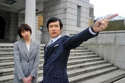 Yui Aragaki and Masato Sakai in Legal High