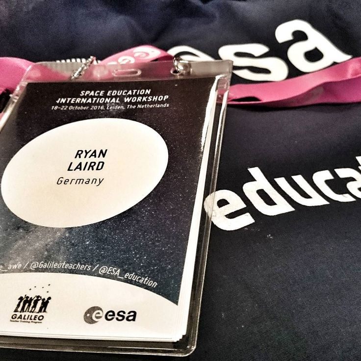 Geared up for #spaceEDU16