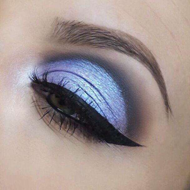 Los colores pasteles lucen increíble en los ojos #Pasteles #Azul #Maquillaje #Makeup #Ojos #Eyes