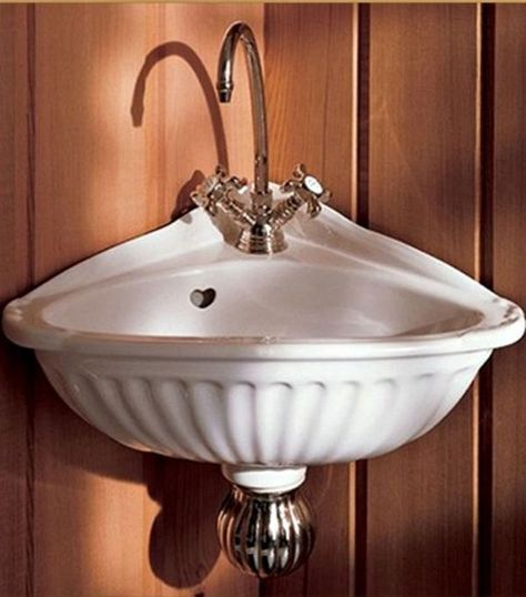 Nice These 10 Stylish Corner Sinks Are Your Small Bathroom Solution Pictures