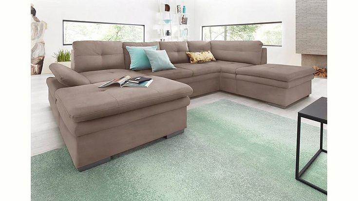 Perfect Jetzt Cotta Wohnlandschaft mit Sitztiefenverstellung wahlweise mit Bettfunktion g nstig im cnouch Online Shop bestellen