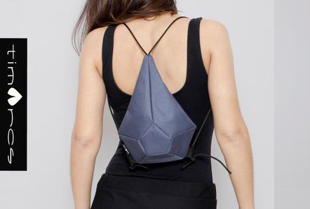 Timarcs  geometric backbag, 3D design, geometric fashion, high fashion