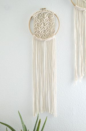 Macrame Wallhanging                                                                                                                                                     More