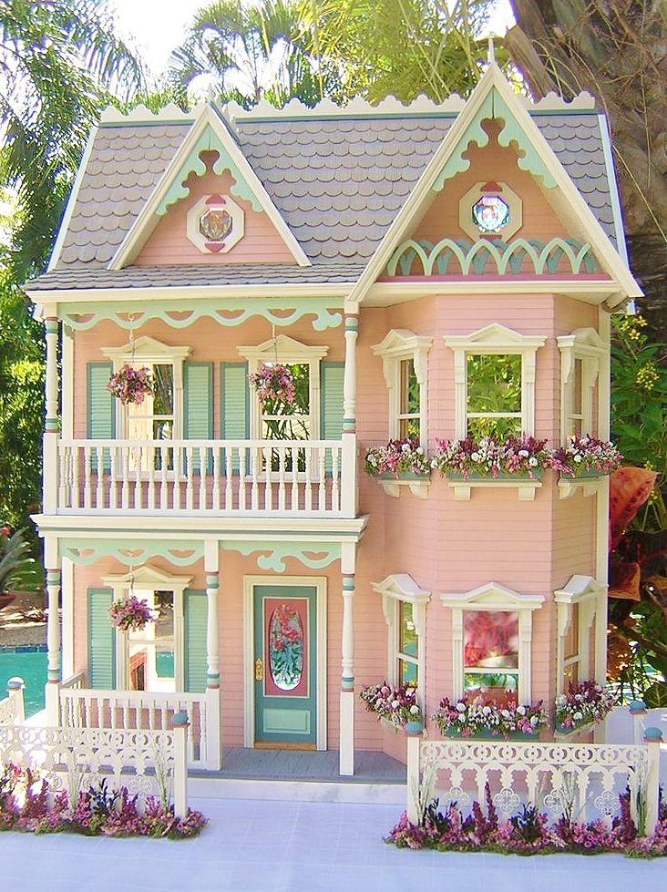 ♔ Little Pink cottage