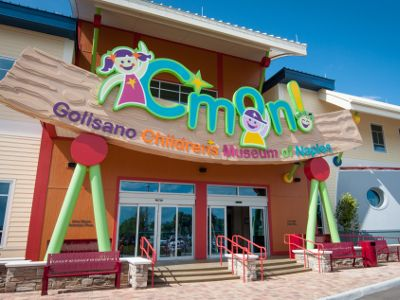 C'mon is a 30,000-square-foot museum for families located in the North Collier Regional Park with 12 exhibit galleries and thousands of interactive experiences.