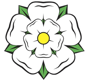 The White Yorkshire Rose