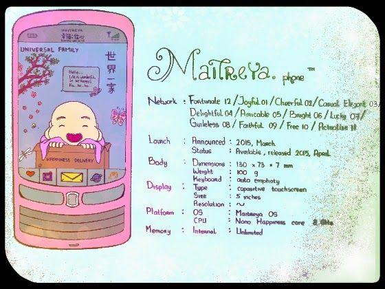 Buddha Maitreya: Little Maitreya phone