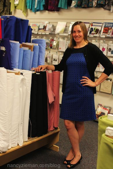 Nancy Zieman's Knit Dress Sew Along featuring McCalls 7152 #NZKnitDressSAL