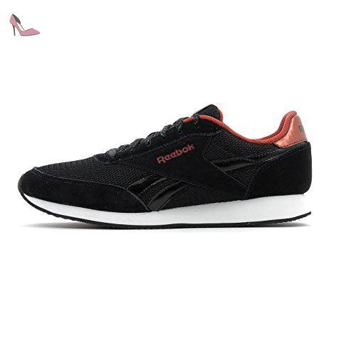 Reebok Royal Classic Jogger 2, Baskets Basses Femme, Noir (Black/Rust Met/White), 37.5 EU - Chaussures reebok (*Partner-Link)