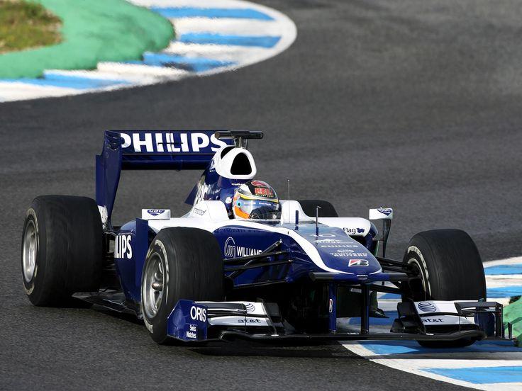 Williams FW 32 Cosworth 2010 Diseñado por Sam Michael y Ed Wood Pilotos: Rubens Barrichello y Nico Hulkenberg