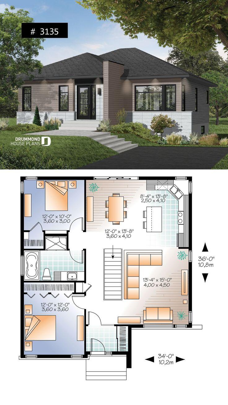 Modern Open Concept House Plans 2021 Modern Open Concept ...