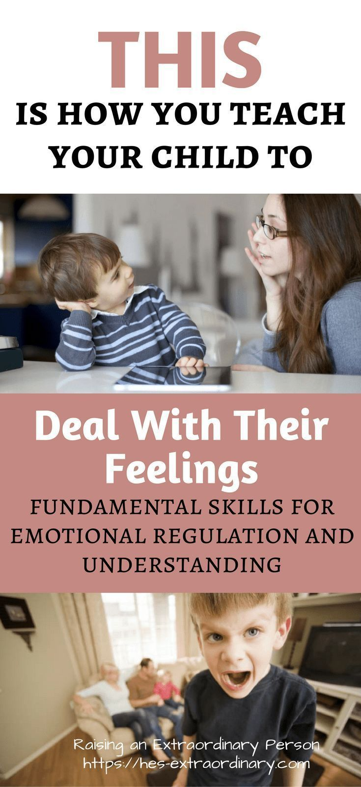 Helping Children Deal With Their Feelings #selfregulation #adhd #autism