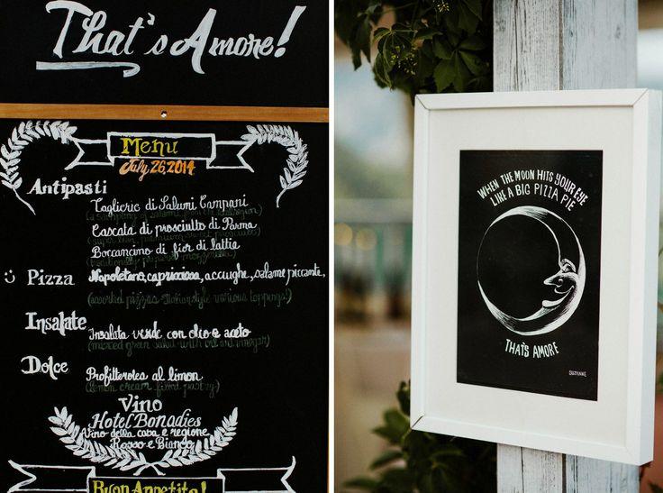 wedding menù - Jeff & Suzanne - 24th May 2014 - Ravello - Amalfi Coast - La Dolce Vita