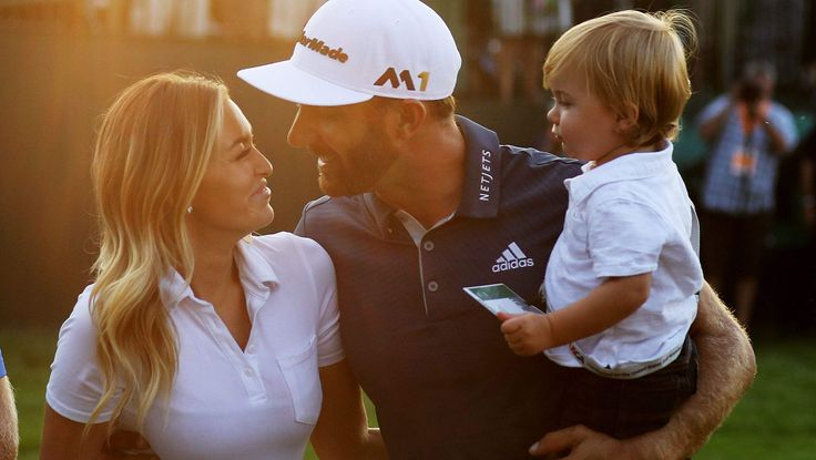 dustin johnson photos | PHOTOS: Dustin Johnson & his wife Paulina Gretzky at the U.S. Open