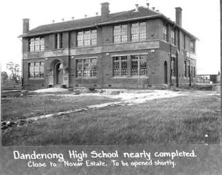 Dandenong High School 1919