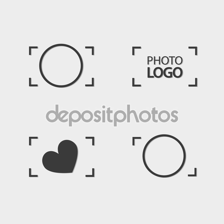 Camera Logo Viewfinder