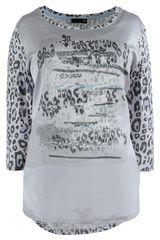 #Rabe - shirt met luipaard dessin #panterprint #luipaardprint #leopardprint #fall16 #winter17 #fashion #trends